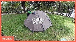 รีวิวกางเต็นท์ K2 Sniper ที่จุดชมวิวป้อมปี่ ในวันที่พายุดีเปรสชั่นเข้าไทย