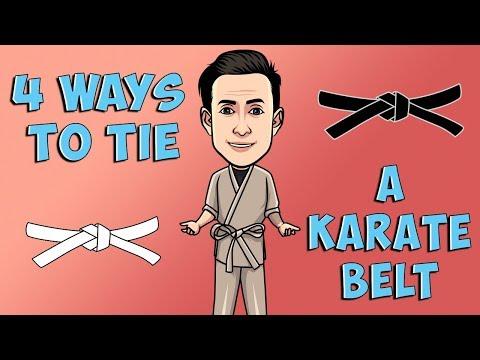 4 Ways To Tie A Karate Belt