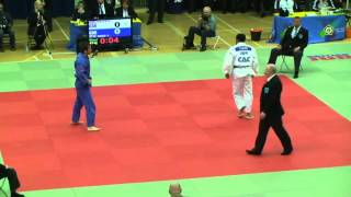 Tom Reed takes on Tom Davis in the -81kg final at the 2012 London British Open