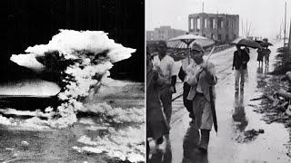 Hiroshima nach der Atombombe: Beeindruckende Archivaufnahmen zeigen die Stadt in Schutt und Asche