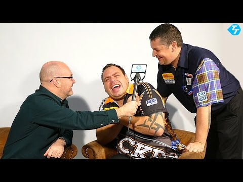 Adrian Lewis talks to Paul plus Gary Anderson makes an appearance