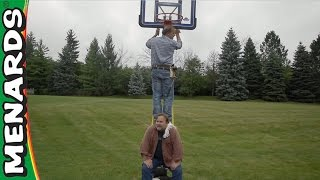Basketball Hoop Installation - We're Here To Help - Menards