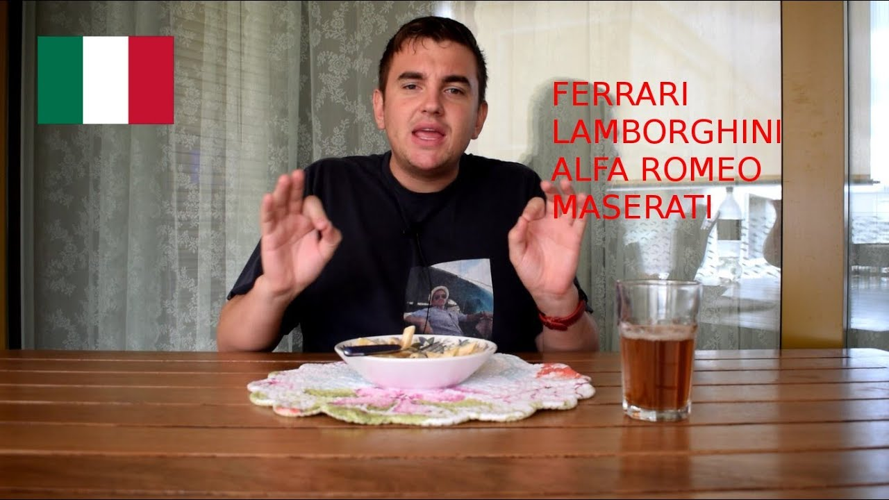 how to pronounce italian car names - youtube