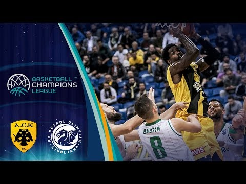 AEK v Petrol Olimpija - Highlights - Basketball Champions Le