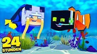 FÜR 24 STUNDEN als FISCHE LEBEN?! - Minecraft [Deutsch/HD]