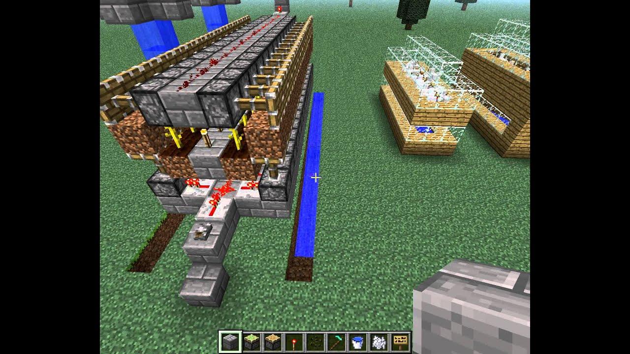 видео как сделать автоматичческую ферму арбузов в майнкрафт #5