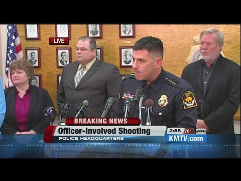 """RAW: Police give update on deadly officer-involved shooting that killed """"COPS"""" TV staffer, suspect"""