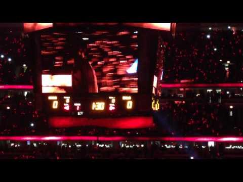Chicago Bulls Home Opener Introduction 2013-14 Season