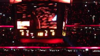 Chicago Bulls Home Opener Introduction 2013-14 Season