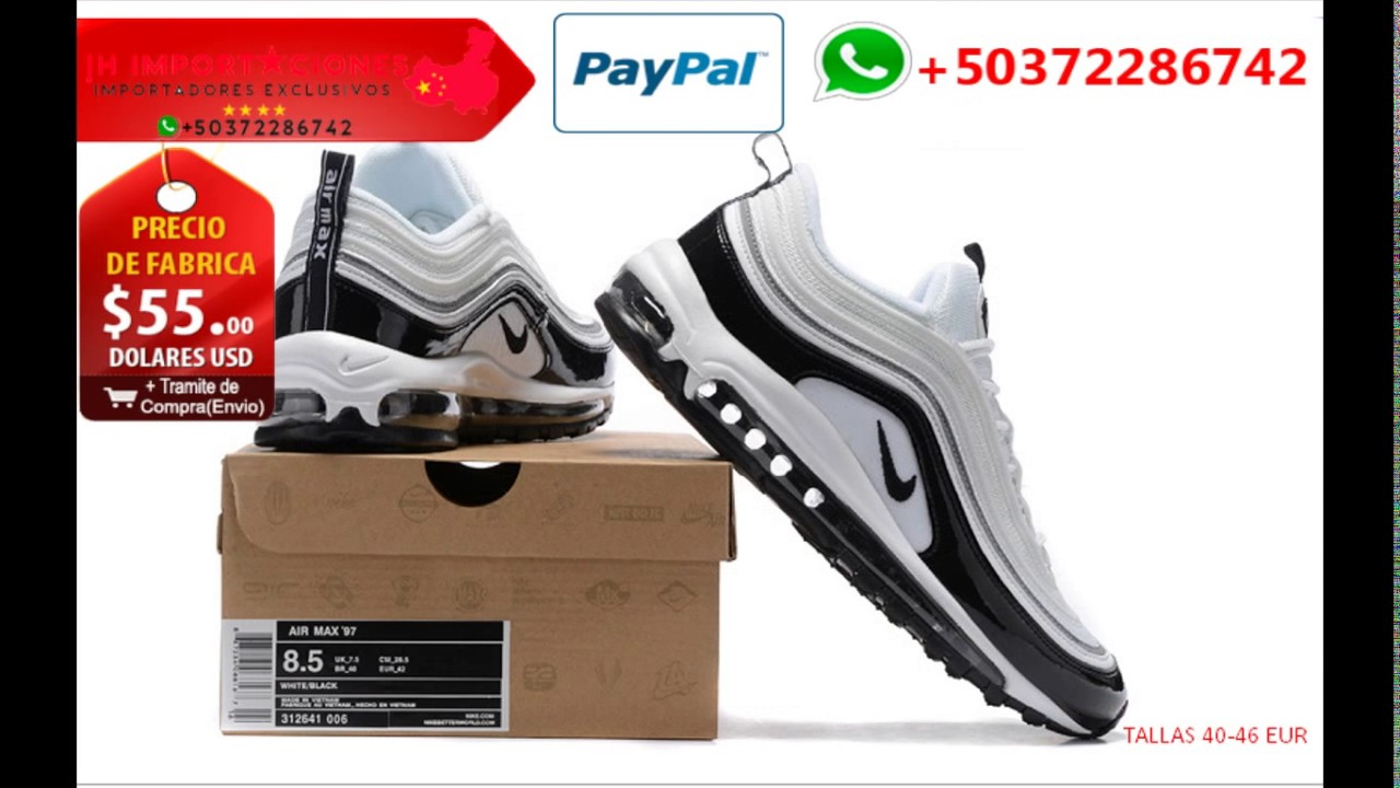 Nike Air Max 97 Alta Calidad 1:1 Made in China