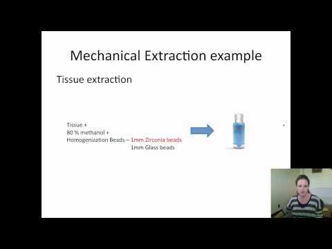 XCMS Institute: Metabolomic Extraction Protocols