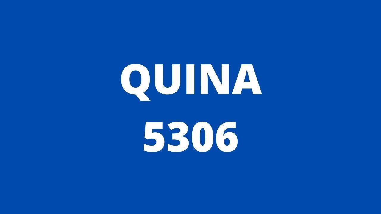 RESULTADO QUINA 5306 | Resultado da Quina 06/07