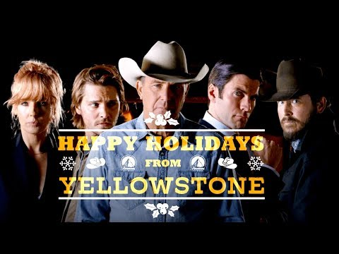 Yule Love This! 🔥Yellowstone Christmas Fireplace 3 HOURS | Paramount Network