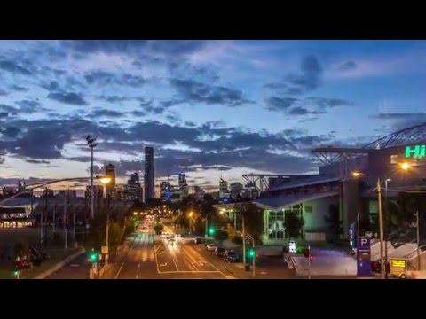 Timelapse Hisense Arena Melbourne