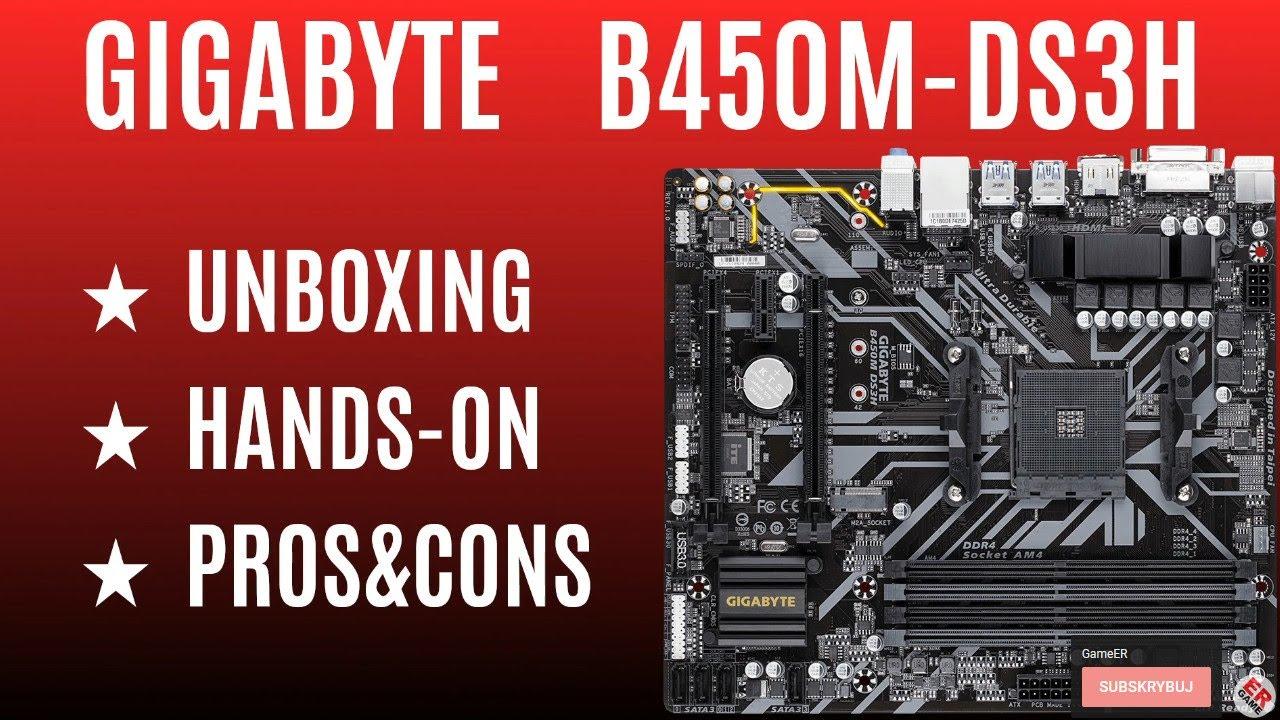 Gigabyte B450m Ds3h Manual