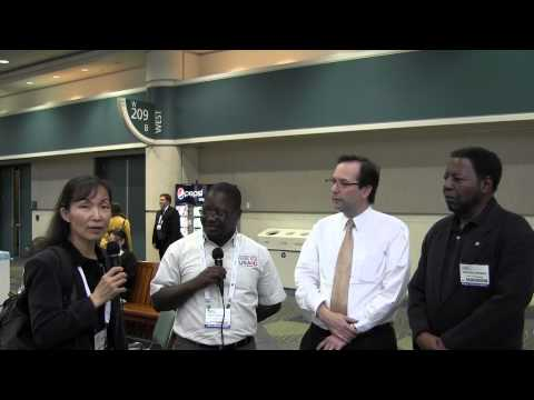 African Delegates Travel Far To Come To Solar Power International