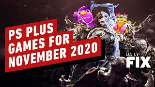 PlayStation Plus Free Games for November 2020 - IGN Daily Fix