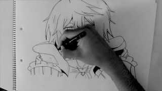 Como Dibujar Jack Vessalius Pandora Hearts