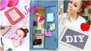 Back To School: Locker Organization + DIY Decorations! | Krazyrayray