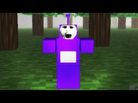 TINKY WINKY GETS ME GOOD | SLENDYTUBBIES 2 - TUBBYCRAFT MAP | 25 CUSTARDS