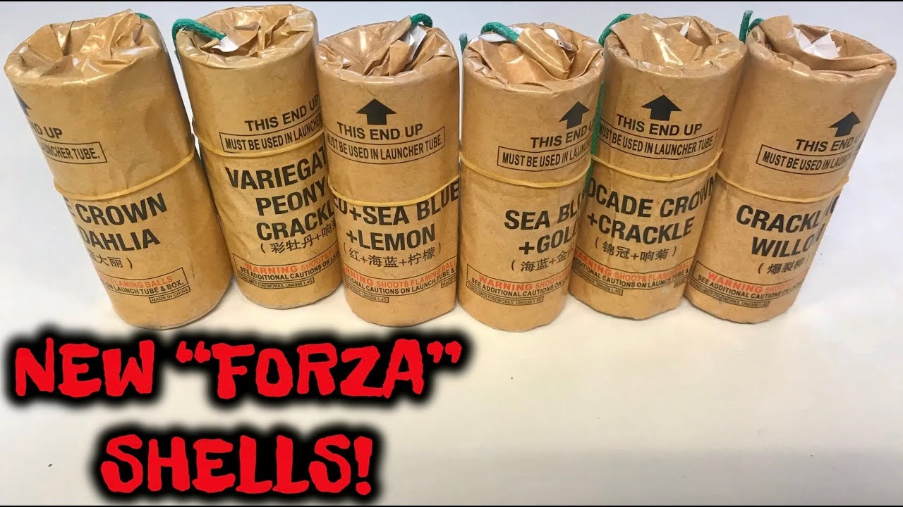 FORZA SHELLS! - Italian Style Fireworks