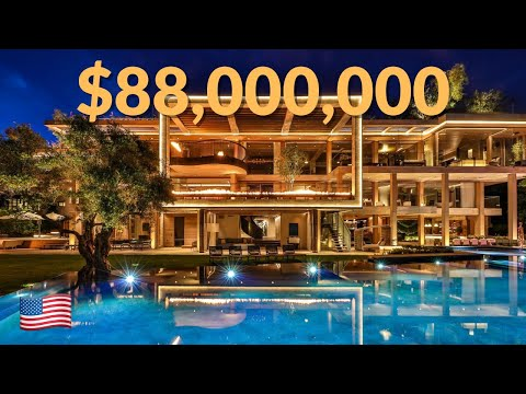 88 Million Bel Air Mega Mansion Youtube