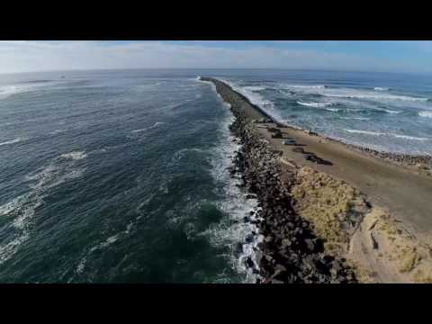 Tillamook Bay 2017 drone video