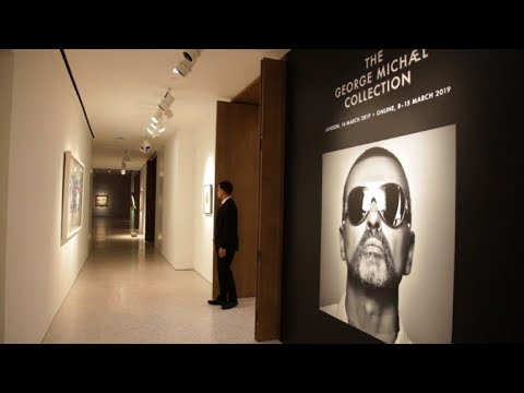 Morris Knight - George Michael's Art Collection Auction Raises 12.3 Million For Charity