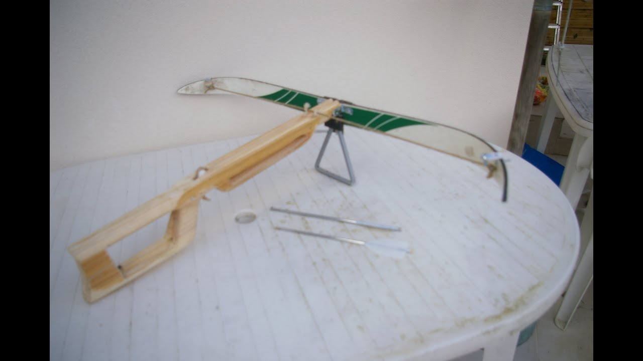 My Homemade Crossbow Part 2 3 Youtube
