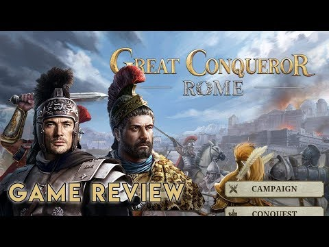 Great Conqueror: Rome [Game Review] IOS/Android War Master