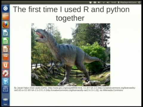 Image from RPy: Powerful Analytics within python