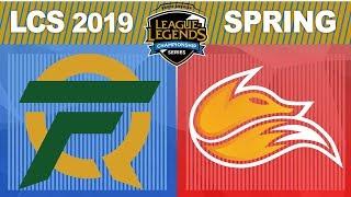 FLY vs FOX - LCS 2019 Spring Split W3D2 - FlyQuest vs Echo Fox