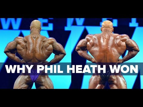 Why Phil Heath Won the 2017 Olympia - Why People Didn't Want Him To