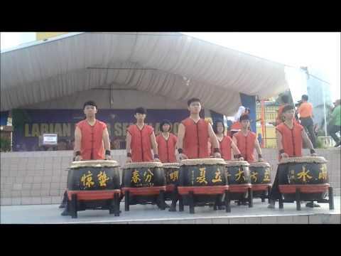 Persembahan Gendang Cina