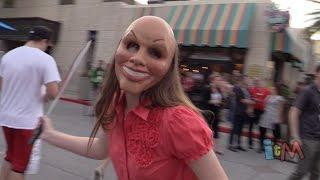 Halloween Horror Nights 24 The Purge opening scaremony moment at Universal Orlando