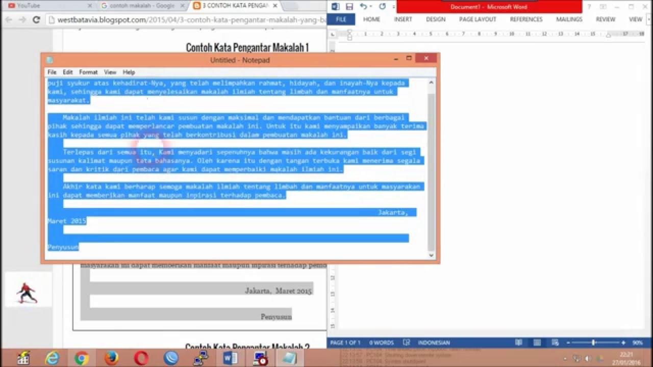 Simple Trik Cara Edit Dokumen Html Ke Word Youtube