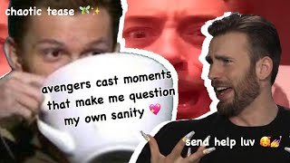 avengers cast moments that make me question my own sanity (chaotic af)