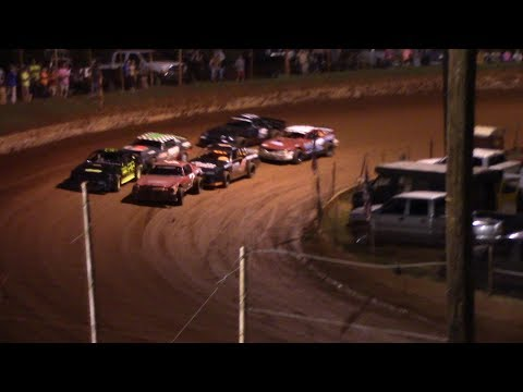 Stock Eight Cylinders. - dirt track racing video image