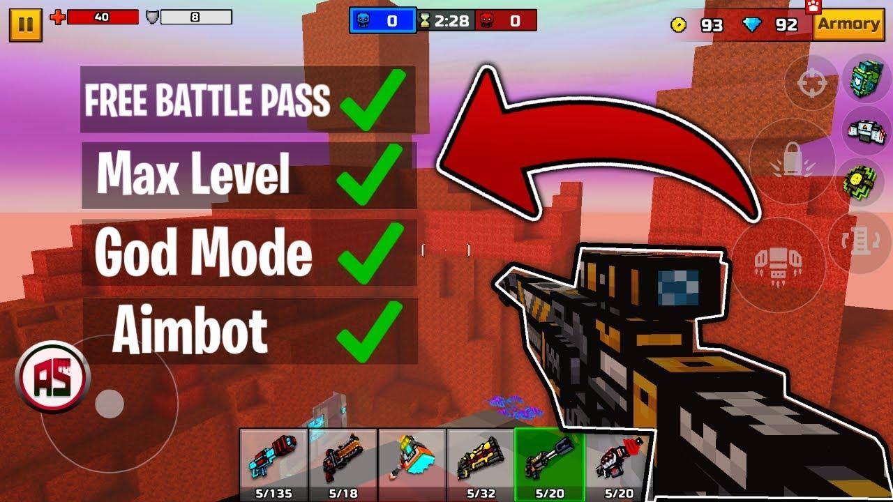 pixel gun3d mod menu