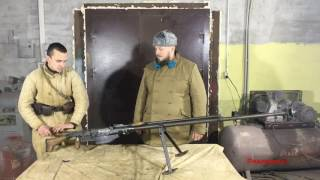 Обзор, разборка, стрельба  Противотанковое ружьё Симонова
