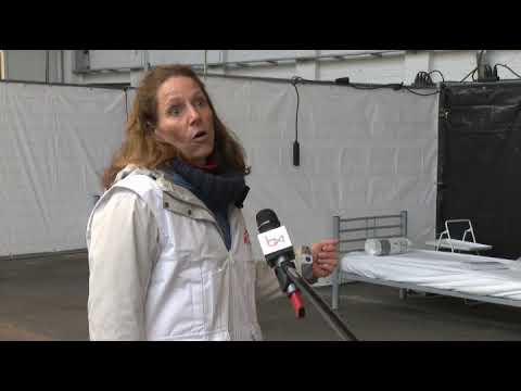 Coronavirus : Médecins Sans Frontières Ouvre Un Centre De Triage Et D'hébergement à Tour & Taxis