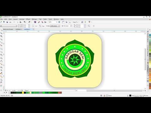 Desain Logo dengan Polygonal Tool di CorelDRAW | Belajar CorelDRAW.