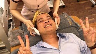 Lần đầu đi Spa, Khương Dừa yêu cầu nhân viên đắp 13 ký vàng lên mặt mình!!!!