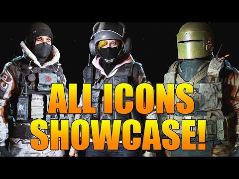 ALL ICON CHARACTERS SHOWCASE! | ALL ICON CHARACTERS UNLOCKED IN GHOST RECON WILDLANDS