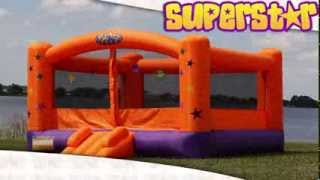 Superstar Inflatable Bounce House by Blast Zone