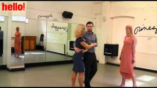 Strictly's Kristina Rihanoff give a very special dance class Thumbnail