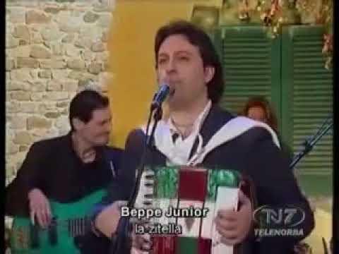 "Beppe Junior "" La Zitella "" versione originale"