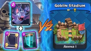 Clash Royale | BATS + CLONE TROLLING ARENA 1! | *FUNNY MOMENTS* (Drop Trolling #85)