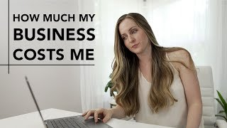 How much it COSTS to run my online business