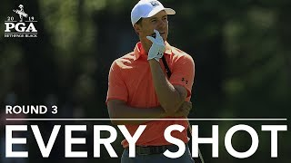 <b>Jordan Spieth</b> | Every Shot from His 3rd-Round 72 at the 2019 PGA ...